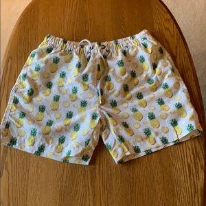 6cedfebb65 Franks Swim Trunks ~ Pineapple Print
